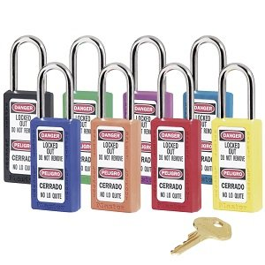 Total Lockout Master Lock Zenex 411 Safety Padlock image