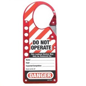 HAS-427RED-Snap-on-labelled-hasp