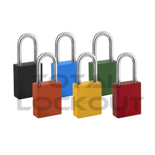 Total Lockout Master Lock Powder Coated 6835 Safety Padlock image