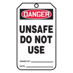 SIG-MDT191-Unsafe-Do-Not-Use-Tags