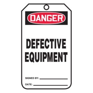 SIG-MDT229-Defective-Equipment-Tag