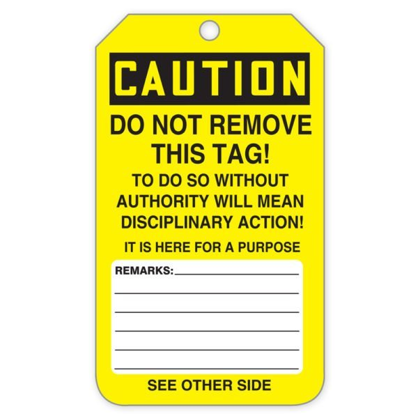 SIG-TAR132-TAR154-Unsafe-Do-Not-Use-Roll-Of-Tags-Back