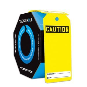 SIG-TAR134-Blank-Caution-Tag