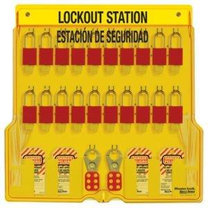 STO-1484BP1106ES-Lockout-Station-Spanish