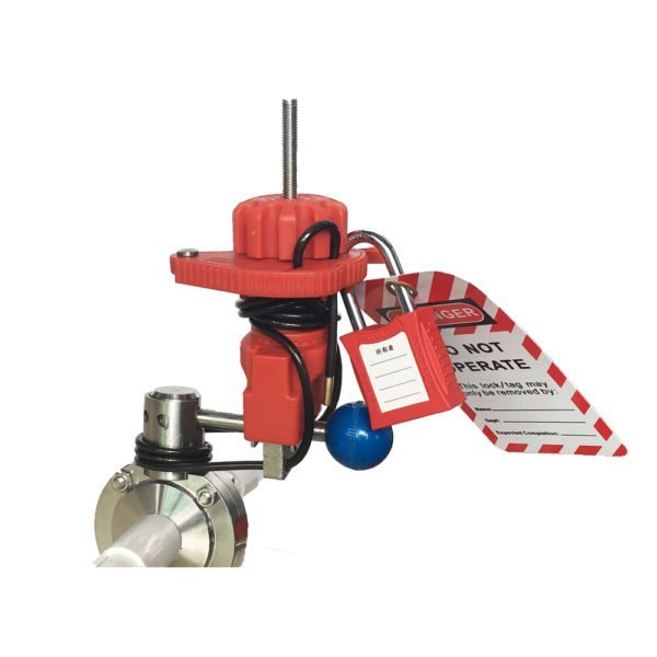 VLO-BAN-F33-Universal--Clamp-Valve-Lockout-With-Cable