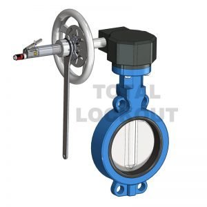 Butterfly Valve Portable Actuator