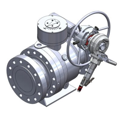 ball valve portable actuator