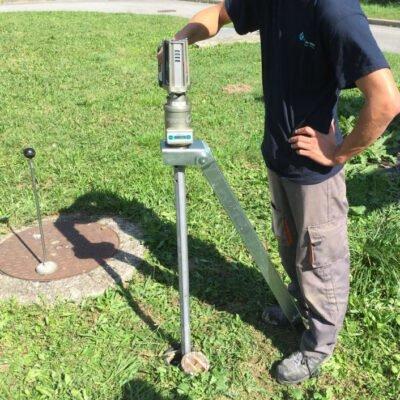 below ground portable valve actuator